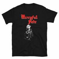 Vintage MERCYFUL FATE KING DIAMOND T-shirt Black All Size Unisex M182