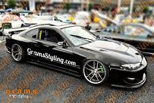 Nissan S15 Silvia Carbon Fiber Rear Fenders +80mm for Body Kit, Performance V6