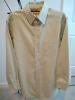Roundtree & Yorke Gold Label Fitted 80's Non-Iron Pinpoint Shirt Men's 15/ 33