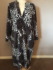 Loungerie Dressing Gown - Animal Print - Large - Used