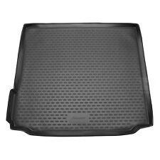 BMW X5 F15 13-18 Rubber Boot Liner Tailored Fitted Black Floor Mat Protector Dog