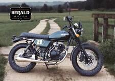 Herald Scrambler 125cc Brand New In Metallic Green