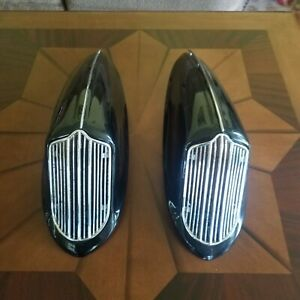 1936 DODGE D2 HORN COVERS WITH GRILL AND TOP TRIM  RESTORED