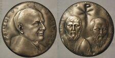Vaticano medaglia in argento papa Paolo VI anno V
