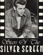 Unused postcard showing James Dean Stars of the Silver Screen series No 9612