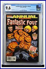 Fantastic Four 1998 Annual #nn CGC Graded 9.6 Marvel 1998 White Pages Comic Book