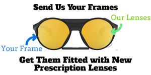 Custom Prescription Lenses for Oakley Clifden OO9440- Rx Replacement Lenses