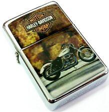 HARLEY DAVIDSON MOTOR CYCLES Bike Smoking Cigarette Petrol Lighter Merchandise