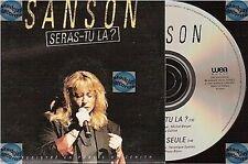 VERONIQUE SANSON SERAS TU LA? CD SINGLE