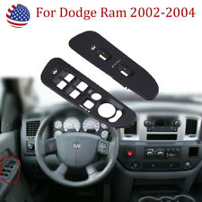 1 Pair LH & RH Window Switch Panel Bezel Fit for Dodge Ram 2002 2003 2004 2005