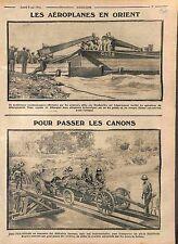 Avion Aircraft Farman MF.11 Bataille des Dardanelles/Artillery Africa WWI 1915