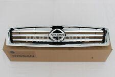 Nissan Maxima 2012-2014 Genuine Front Radiator Grille Emblem Chrome 62070-9DA0A