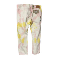 Levi's Tie Dye Denim 501 Jeans Mens 32 x 30 Pink Yellow '93 Straight Button Fly