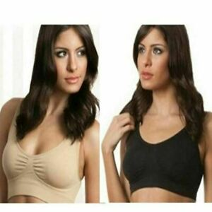 3 Pack Seamless Miracle Bras with Removable Pads