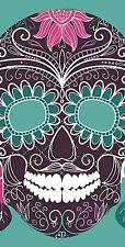Sugar Skull Cornhole WrapsDecal Set Decals Vinyl Sticker Bean Bag
