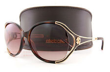 Brand New Roberto Cavalli Sunglasses RC 669S 53F Dark Havana/Brown For Women