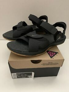 NlKE ACG Air Deschutz - Black Gum / CT3303 001 / Mens Sandals SIZE 9 NEW