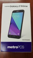 Brand New Samsung Galaxy J7 Prime 32GB SM-J727T Unlocked - Black -