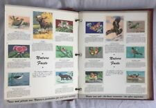 Vintage National Wildlife Federation Wildlife Stamp Album 1949 to 1958