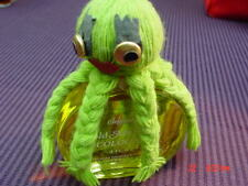 Rare Vintage Hold Me Tight Delagar Mens Cologne Octopus Novelty Full 4 ounces