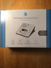 AT&T 1740 Digital Answering Machine System Recording Time/Day Stamp NEW
