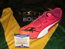 Usain Bolt Signed Official Puma Evospeed Cleat Bolt Model Shoe Fastest BAS #2