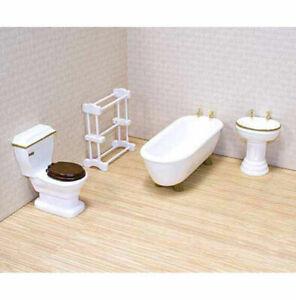 Melissa And Doug Doll House Furniture Bathroom Set