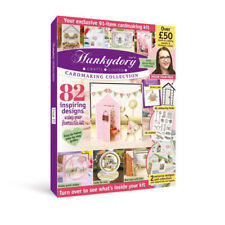 Hunkydory Cardmaking Collection Magazine Issue 5 Embossing Folder Papers