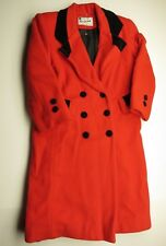 Vintage ROTHSCHILD Red Button Up Children's Coat/Jacket Children's Size 7