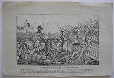 Original-Kupferstiche (1800-1899) aus Polen mit Militär- & Schlachtmotiven