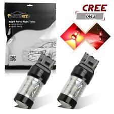 7440 7443 T20 30W Cree LED Red Tail Stop Brake Signal Car Light Bulb Lamps-2 Pcs