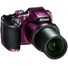 Nikon VNA952E1 COOLPIX B500 16MP 40x Zoom Bluetooth Wi-Fi Digital Camera - Plum