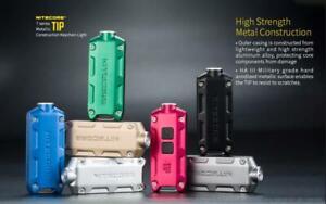 Nitecor TIP USB Rechargeable 360 Lumen LED Keychain Flashlight torch light