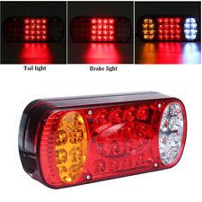 12V LED Rear Stop Light Brake Indicator Lamp For Truck Trailer Van Caravan RV