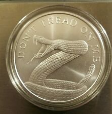 2017 Don't Tread On Me 1 oz .999 Silver Shield 2nd amendment gadsden gun AR15