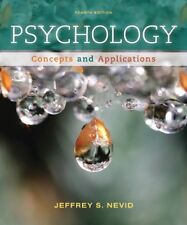 (Loose-Leaf) Psychology: Concepts and Applications by Jeffrey Nevid 4th Edition