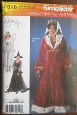 Simplicity Sewing Pattern 2818 Womens Angel Queen Witch Costumes Size 18W-24W