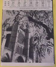 1956 ESPAGNE  CATHEDRALE DE LÉON,LEON CATHEDRAL SPAIN