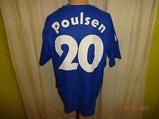 """FC Schalke 04 Adidas Trikot 2002/03 """"Victoria Versicherungen"""" Nr.20 Poulsen Gr.L"""