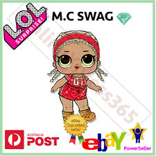 LOL SURPRISE DOLL GLITTER  SERIES M.C SWAG L.O.L DOLLS NEW NEVER USED
