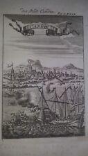 1686 Grecia Candia -Mappa antica originale - autore Manaisson Mallet