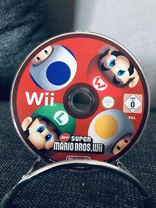 ✅🔴New Super Mario Bros Wii - Nintendo Wii - CD Seul - 🇫🇷FR