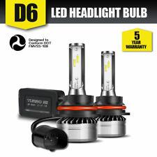 DOT 9004 LED Headlight Bulb FOG Driving Light Hi-Low Lamps DRL 6000K 12000LM