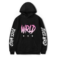 Women Printed Singer Juice Wrld Hooded Hoodie Sweatshirt Pullover T-shirt Sweats