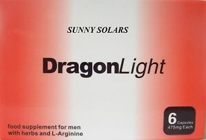 6  Original Dragon Light capsules 475 mg extra strong male pills 30 min !
