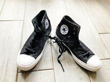 Converse 150143C Unisex CT All Star II Hi Black White Shoes mens size 7.5 rrp72