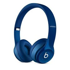 BRAND NEW Beats by Dre 2017 Solo 2 WIRELESS BLUETOOTH HEADPHONES - BLUE