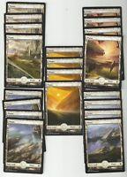 20X PLAINS FULL ART  basic land- Battle for Zendikar - MTG Magic the Gathering