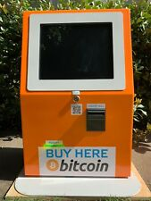 Plug and play refurbished Bitcoin ATM with warranty and support