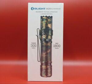OLIGHT M2R PRO WARRIOR CAMOFLAGE 1800 Lumen Rechargeable Flashlight Serial# 8183